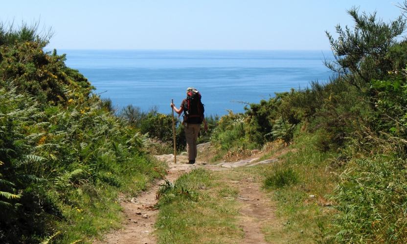 Camino Finisterre to the Atlantic Ocean