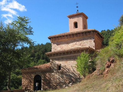 The Monastery Suso was established in the C7th and is the resting place of San Millan