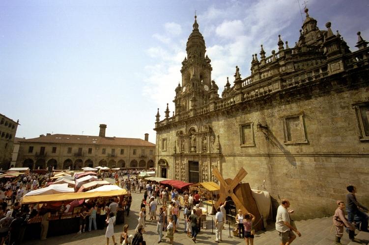 Plaza de Quintana, Cathedral of Santiago de Compostela