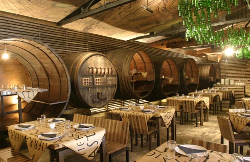 Typical Ciderhouse Restaurant