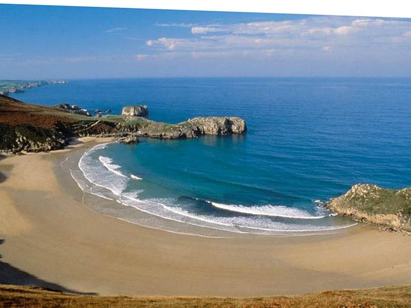 Playa Torimbia, Llanes