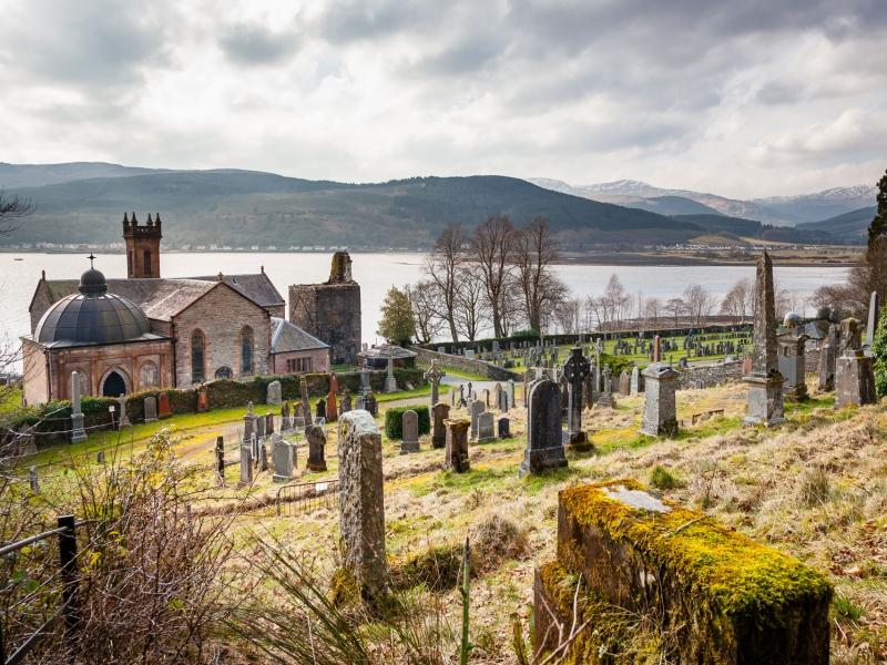 Kilmun Church & Clan Campbell Mausoleum