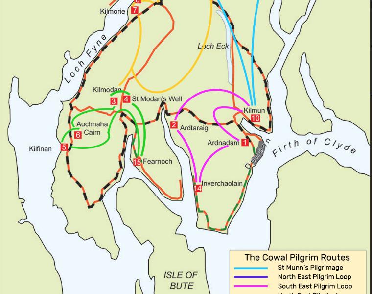 Cowal Peninsula Pilgrim Routes