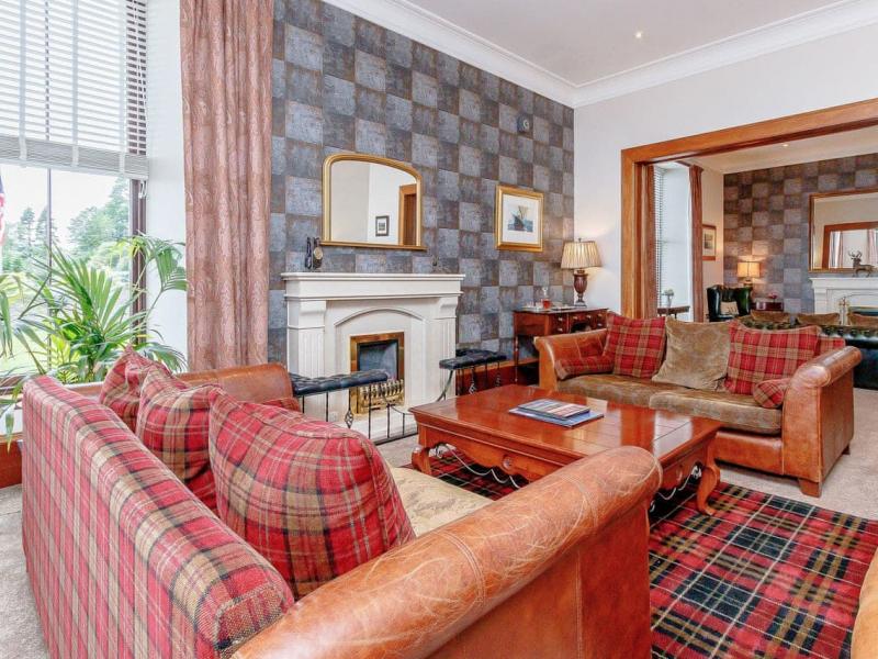 Enjoy traditional Scottish hospitality at Strone House