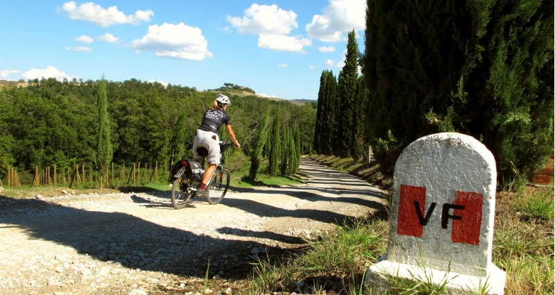 Cycle Italy's Camino - Via Francigena Siena to Rome