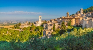 St Francis Way - Stage 2 from Citta to Assisi