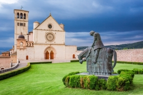 The Basilica of St Francis of Assisi