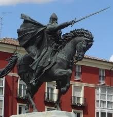 El Cid's Statue in Burgos