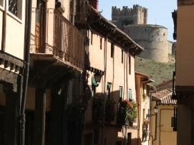 Medieval streets & Castle of Berlanga del Duero