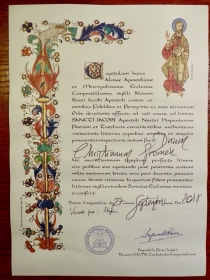 The Compostela Certificate