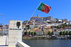 University town of Coimbra