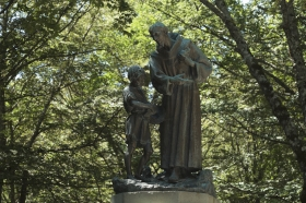 St Francis Statue in Verna