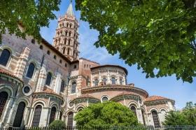St Sernin Basillica in Toulouse