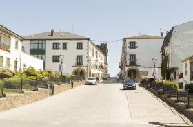 The Camino Town of Portomarin