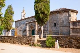 Melide's Santa Maria Church