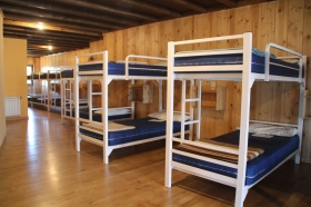 Albergues provide shared dormitory accommodation